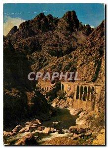 Modern Postcard Corsica Inouliable Scala di Santa Regina