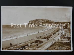 c1953 RPPC - The Promenade and Little Orme, Llandudno