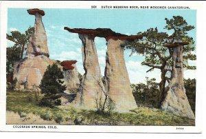 Colorado Springs, CO - Dutch Wedding Rock