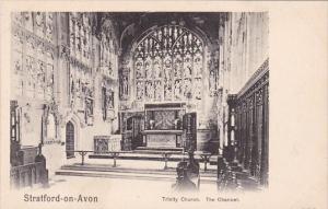 England Stratford-on-Avon Trinity Church The Chancel