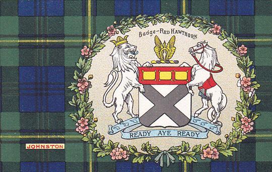 Tarton & Clan Coat of Arms , SCOTLAND , 00-10s