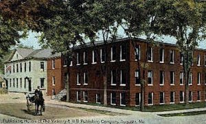 Vickery & Hill Publishing Company in Augusta, Maine