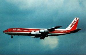 AVIANCA Columbia Boeing 707-359B At Los Angeles International Airport