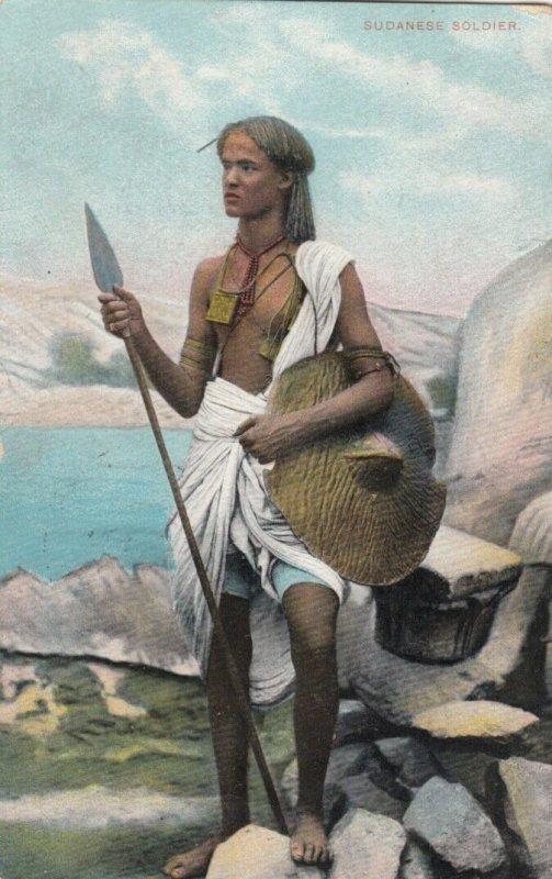 SUDAN , 00-10s; Native Soldier