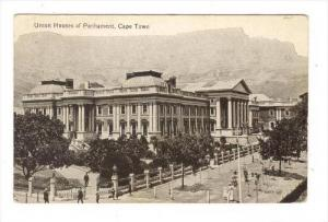 Union Houses Of Parliament, Cape Town, South Africa, 1900-1910s