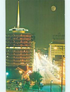 Unused Pre-1980 FAMOUS CAPITOL RECORDS BUILDING Los Angeles California CA H4935