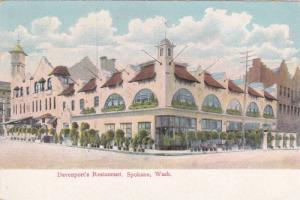 Davenport's Restaurant, Spokane Washington 1908