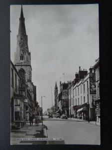 Dorset DORCHESTER High East Street - Old RP Postcard by E.T.W. Dennis