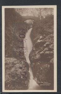 Cumbria Postcard - Waterfalls - Aira Force, Ullswater   RS17659