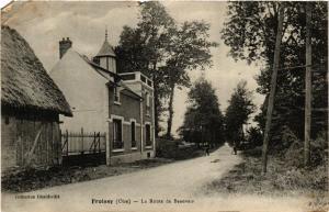 CPA FROISSY La Route de BEAUVAIS (376782)