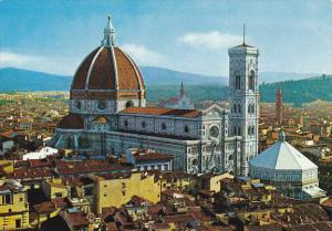 Italy Firenze Cattredale e Panorama