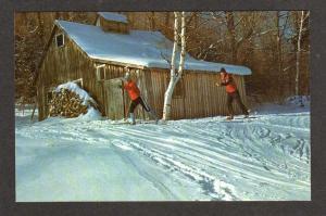 VT Mt Top Skiing Ski Ctr CHITTENDEN VERMONT Postcard