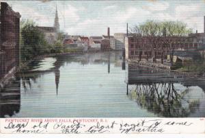 PAWTUCKET, Rhode Island, PU-1906; Pawtucket River Above Falls