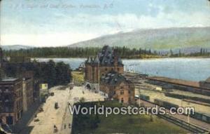 British Columbia, Canada CPR Depot & Coal Harbor Vancouver  CPR Depot & Coal ...