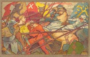 Switzerland - Bundesfeier - Artist Signed 1911 - 04.05