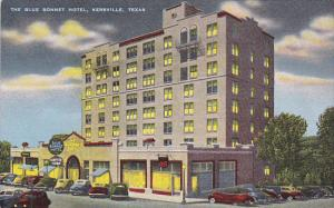 The Blue Bonnet Hotel, KERRVILLE, Texas, 30-40's