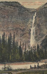 FIELD , B.C. , Canada , 1900-10s; Takakkaw Falls, Canadian Rockies