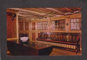 MA Peabody Museum Cleopatra Barge Egyptian Egypt Salem Massachusetts Postcard