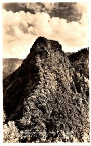 Tennessee Smokey Mountains Chimney Tops Real Photo