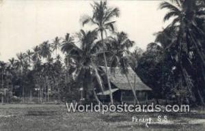 Penang Malaysia, Malaya  Real Photo