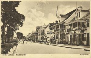 suriname, PARAMARIBO, Keizerstraat, Shops (1930)