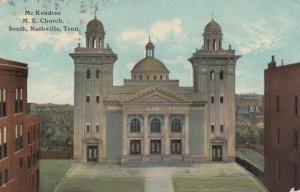 NASHVILLE , Tennessee, 1912 ; McKendree M.E. Church