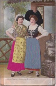 Germany Elsaesser Tracht Costume Alsacien Embroidered