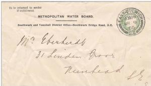 Metropolitan Water Board, Southwark and Vauxhall District Office, Southwark B...