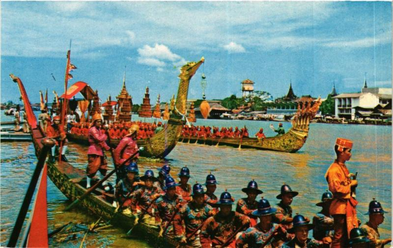 CPM THAILAND Dhonburi, Thailand: Scenery of the Royal Barges (345062)