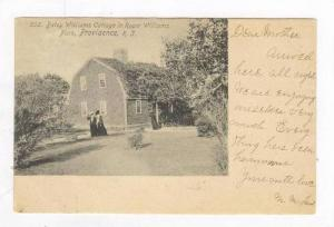 Betsy Williams Cottage In Roger Williams Park, Providence, Rhode Island, PU-1905