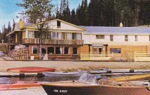 Canada Prince George Summit Lodge At Summit Lake On Hart Highway
