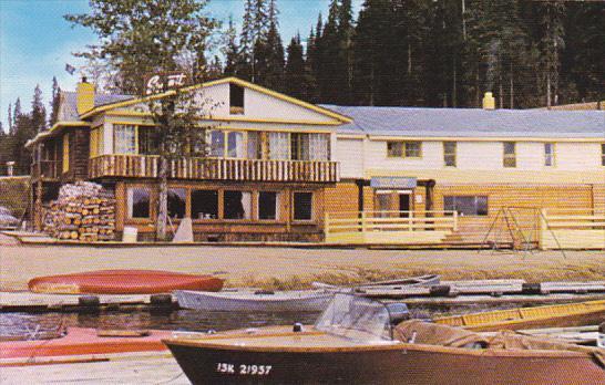 Canada Prince George Summit Lodge At Summit Lake On Hart Highway