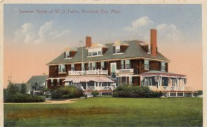 BUZZARDS BAY, Massachusetts, 1900-1910's; Summer Home of W. O. Taylor
