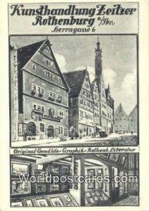 Kunsthandlung Zeitzer Rothenburg Rothenburg Germany Unused