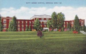 Mississippi Meridian Matty Hersee Hospital
