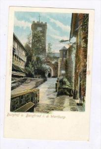 Burghof u. Bergfried i. d. Wartburg (Thuringia), Germany, 1900-1910s