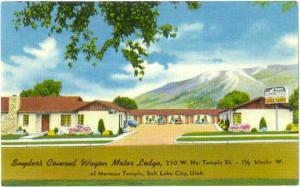 Linen of Snyder's Covered Wagon Motor Lodge Salt Lake City