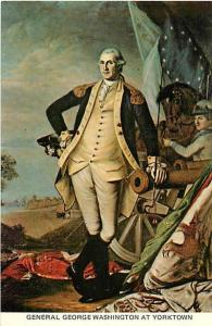 General George Washington at Yorktown by James Peale, Chrome