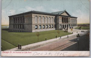 Chicago, Ill., Art Institute at the Lake Front - 1905