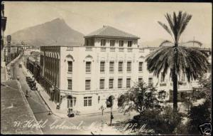 mexico, MONTEREY, Hotel Colonial (1930s) RPPC