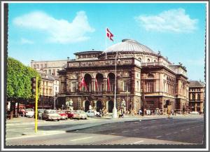 Denmark Copenhagen Royal Theater Postcard