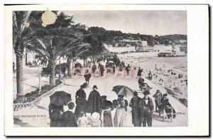 Old Postcard Nice Promenade du Midi