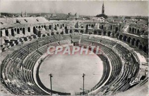 Modern Postcard Nimes Arenes The inside view