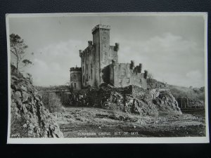 Scotland ISLE OF SKYE Dunvegan Castle - Old RP Postcard by J.B. White
