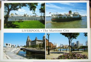 England Liverpool The Maritime City Multi-view - posted