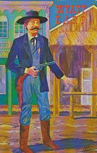 Wyatt Earp Painting By George E Turner