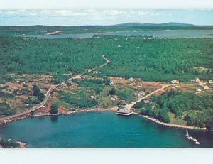 Pre-1980 LOBSTER POOL Little Deer Isle By Belfast Rockland & Bar Harbor ME B8658
