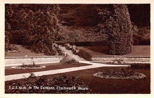 The Gardens, Chatsworth House United Kingdom, Great Britain, England Unused
