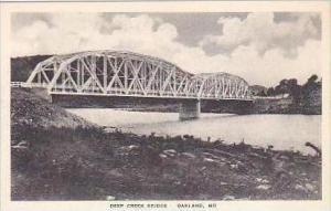 Maryland Oakland Deep Creek Bridge Albertype