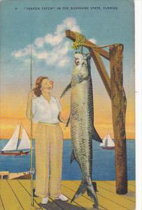 Tarpon Catch In The Sunshine State Florida
